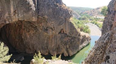 Diyarbakır Bırkleyn Mağaraları (Dicle Tüneli)