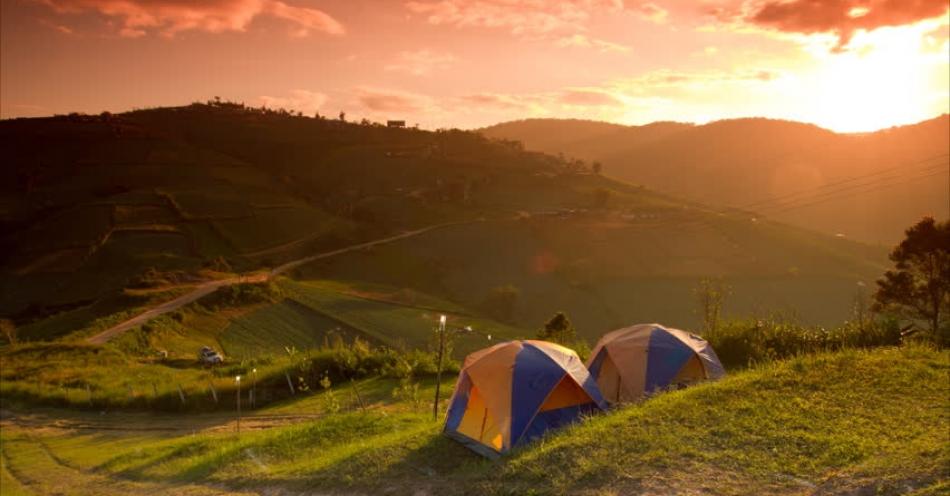 Kamp Alanının Seçilmesi